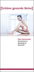 Schöne gesunde Beine Broschüre