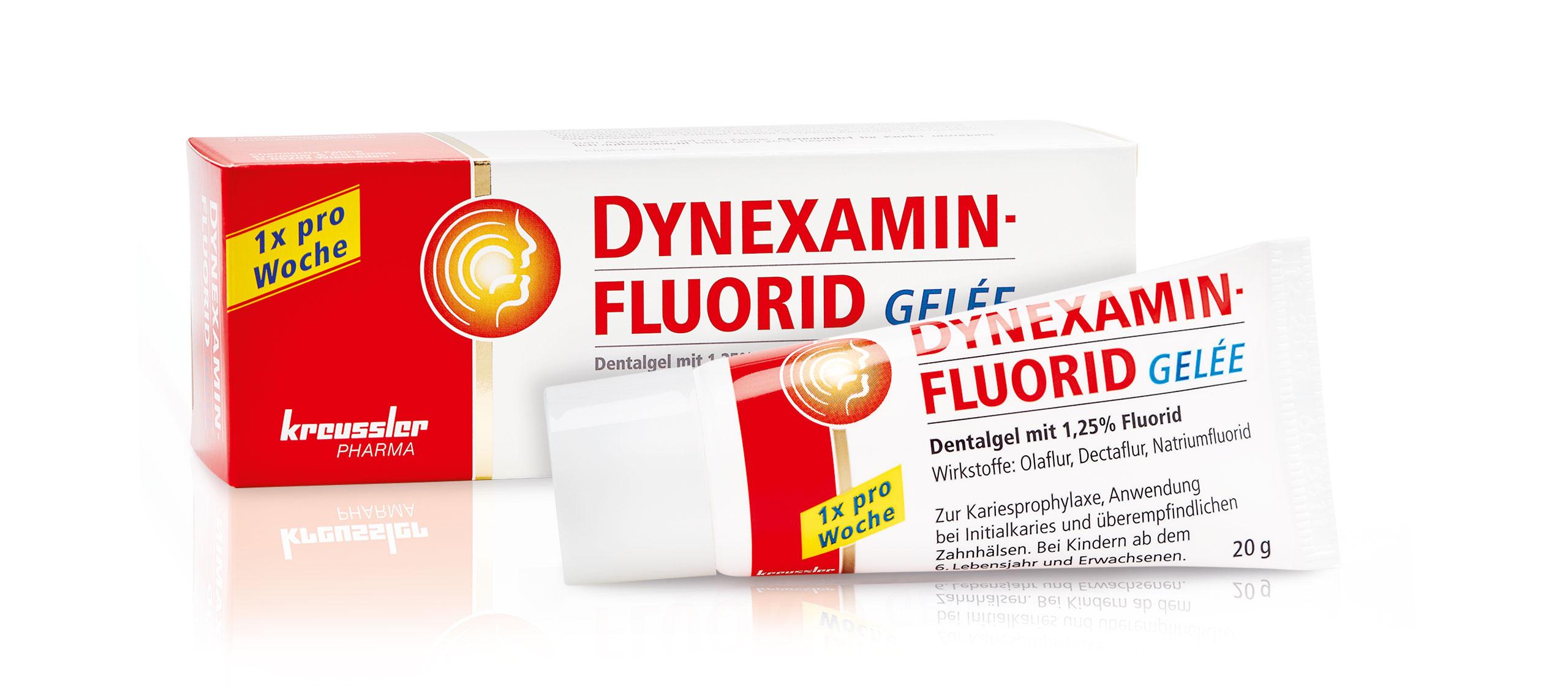 Fluoridierung mit DYNEXAMINFLUORID GELEE